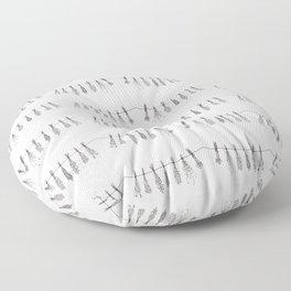 Drying Herbs Floor Pillow