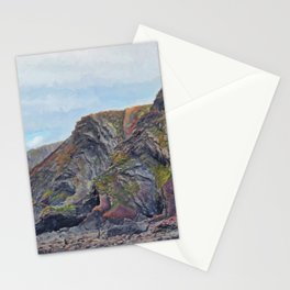 Hartland Quay Cliffs Stationery Cards