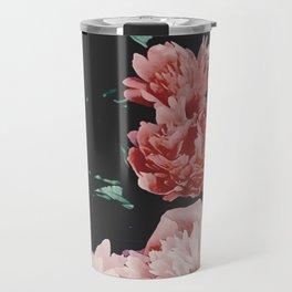 low colored poeny garden Travel Mug