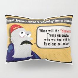 Dimwitted & Associates. Pillow Sham