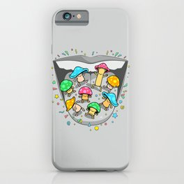 Psilocybin Dance iPhone Case