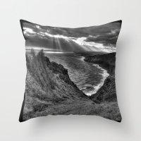 hawaii Throw Pillows featuring Hawaii by Green Skye