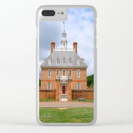 Colonial Williamsburg  Governers Palace Clear iPhone Case