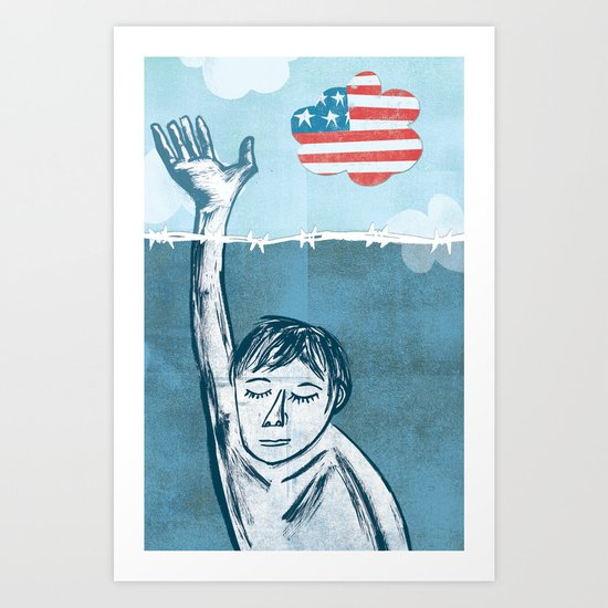 DREAM Act Art Print