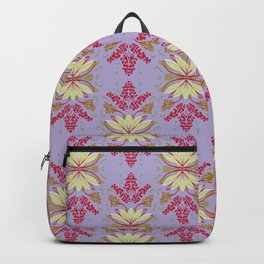 Wild plant pattern 2b Backpack
