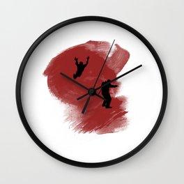 Hunter! Wall Clock
