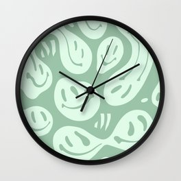 Liquify Minty Fresh Wall Clock