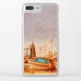 Coffs Harbour Fishing Trawlers Clear iPhone Case