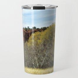 Spring at Red Rock State Park Travel Mug
