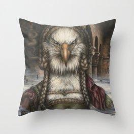 Great Spirit Rising Throw Pillow