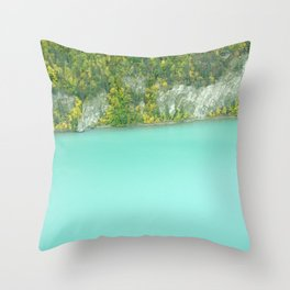 Lake Clark Throw Pillow