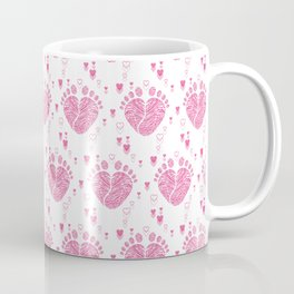 Baby feet background 9 Coffee Mug