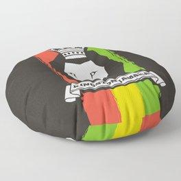 Rasta Lion Floor Pillow