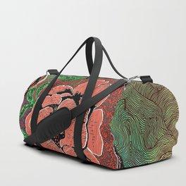Flower Child Illustration Duffle Bag