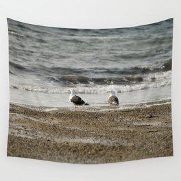 Ocean contemplation Wall Tapestry