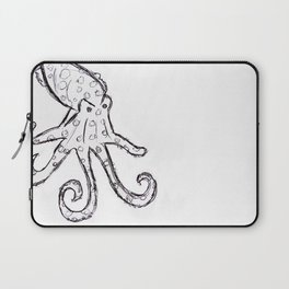 Octopus - Original Pen Ink Sketch Laptop Sleeve
