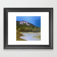 Mountain Lake I Framed Art Print