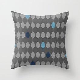 Blue Lanterns Throw Pillow