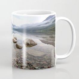 Rocky Lake Mountains Coffee Mug