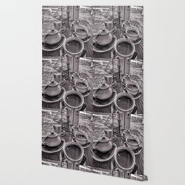 Brunch in grey Wallpaper