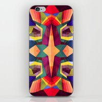 psychadelic iPhone & iPod Skins featuring There You Are by Anai Greog