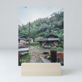 Shizuoka rainy day Mini Art Print