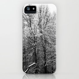 Graphic forest iPhone Case