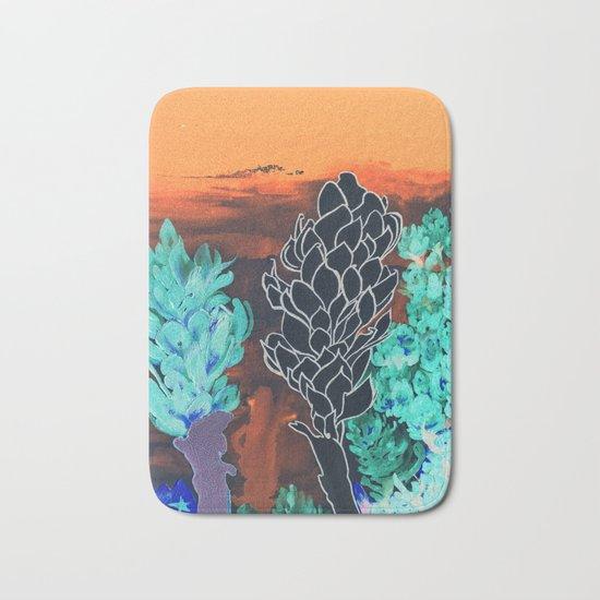 DESERT NIGHT Alpinia Purpurata Bath Mat