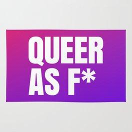 Queer As F Rug