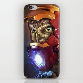 Iron Owl iPhone Skin