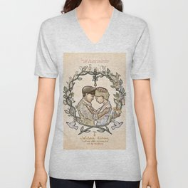 "Illustration from the video of the song by Wilder Adkins, ""When I'm Married"" Unisex V-Neck"