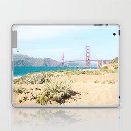 Golden Gate Bridge Beach Laptop & iPad Skin