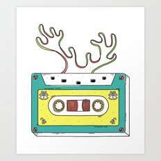 Classic christmas Art Print