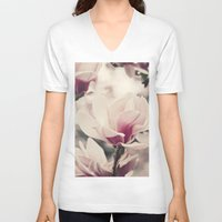 royal V-neck T-shirts featuring Royal by Laura Ruth