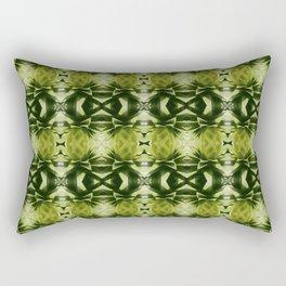 green, green, green Rectangular Pillow