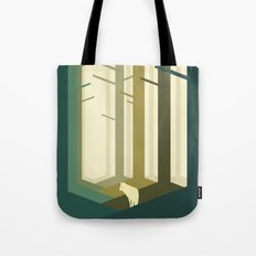 Lonely wolf Tote Bag