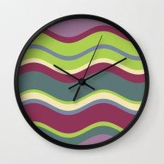 Lavender Shores Wall Clock