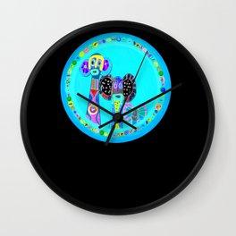 Elephant Masks Wall Clock