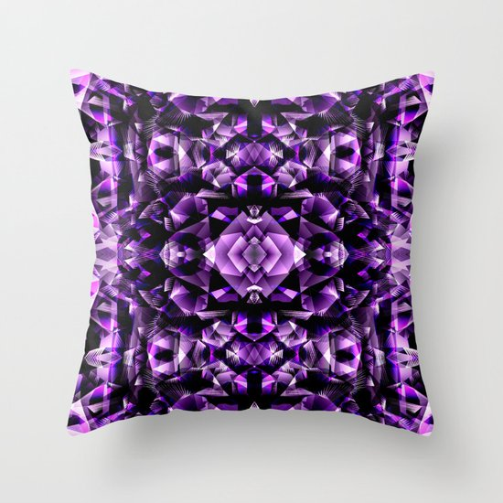 Amethyst throw pillow by akwaflorell society6 for Amethyst throw pillows
