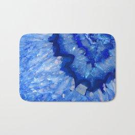 Ocean Blue Crystal Bath Mat