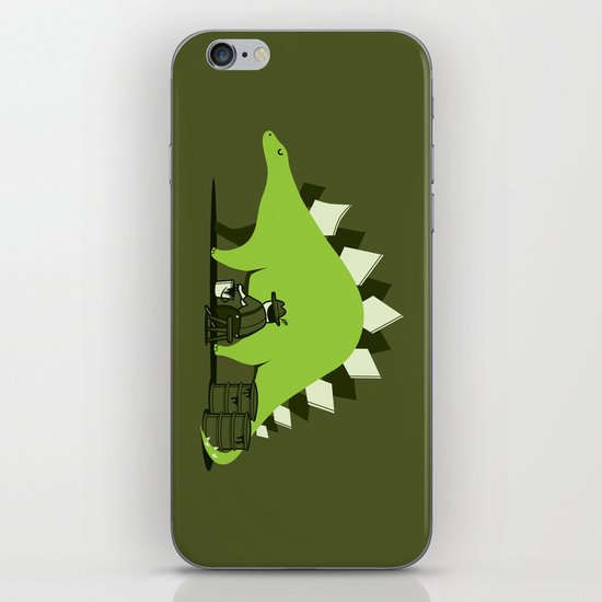 Crude oil comes from dinosaurs iPhone & iPod Skin
