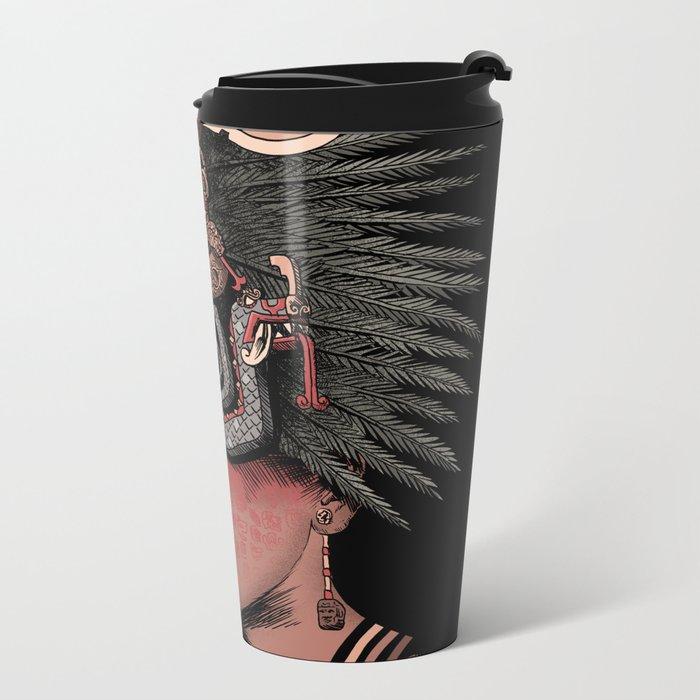 Chacmool Metal Travel Mug