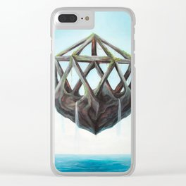 Floating Rock Clear iPhone Case