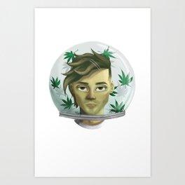 WEED AQUARIUM Art Print