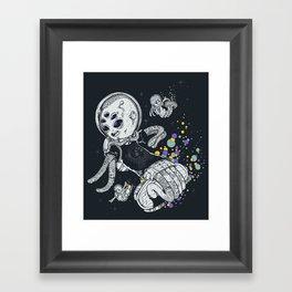 SKATE INVADERS Framed Art Print