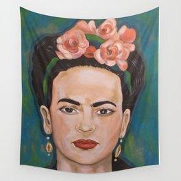 Frida Kahlo Variation 2 Wall Tapestry