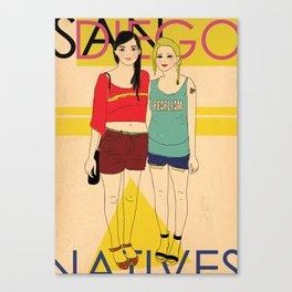 Locals Only- San Diego Canvas Print