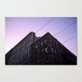 Light Lines Canvas Print