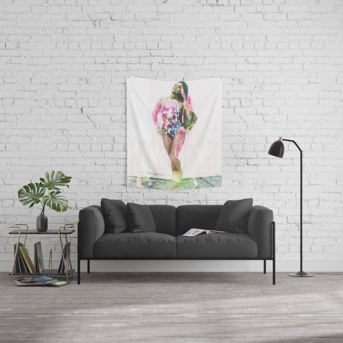 """""""PURE JOY"""" BY ROBERT DALLAS Wall Tapestry"""