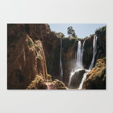 Ouzoud Waterfall Morocco Canvas Print